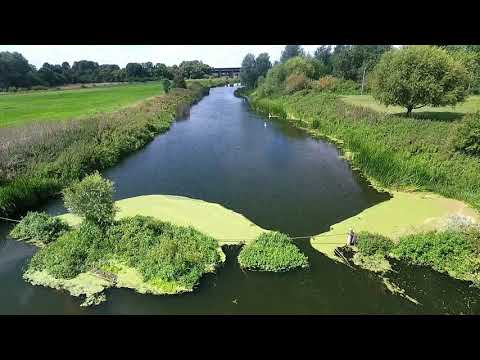 Phantom 4 At Sharnbrook River Ouse Northaptonshire