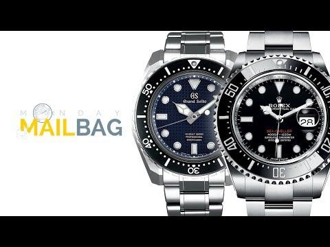 Mailbag! Grand Seiko vs. Rolex?: $13K Precious Metal Watch; Rolex Daytona or Rolex Submariner?
