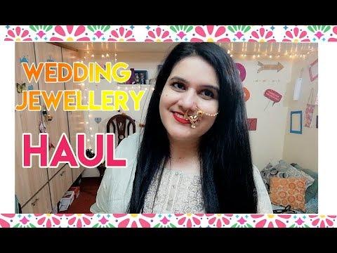 wedding-jewellery-haul-l-my-jewellery-shopping