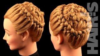 Делаем прическу из кос «Улитка» - видеоурок (мастер-класс) Hair's How.(Делаем прическу из кос «Улитка» - видеоурок (мастер-класс) Hair's How. ЧИТАЙ БЕСПЛАТНО НАШИ ЖУРНАЛЫ НА САЙТЕ..., 2015-05-13T03:25:02.000Z)
