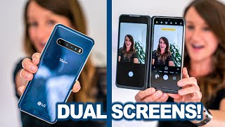 Unboxing and Vlog Test with the LG V60 ThinQ 5G Dual Screen