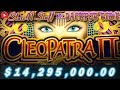 Cleopatra 2 All Big Bonus Round Jackpots OVER 14 Million mp3