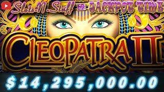 Cleopatra 2 - All Big Bonus Round Jackpots OVER $14 Million!