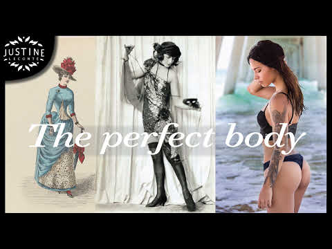 Womens ideal body through time  Justine Leconte