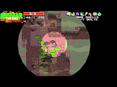 Nuclear Throne: How to unlock the secret characters