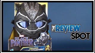 Toy Spot | Hasbro Black Panther Movie Vibranium Power FX Mask