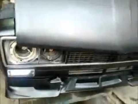 Передние светодиодные фары ВАЗ 2107(Черные). - YouTube