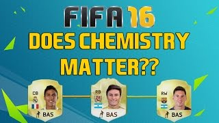 Does chemistry matter?: chemistry vs. best possible players – fifa 16 experiment – fut draft