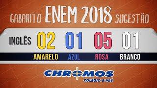 Gabarito ENEM 2018 CHROMOS - Prova Amarela: Questão 02 | Inglês