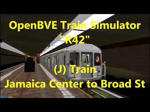 OpenBVE ►R42 | J | Jamaica Center to Broad St◀