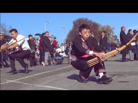 2nd day of merced hmong new year2018 kiv qeej ,dhia qeej,tawg qeej...