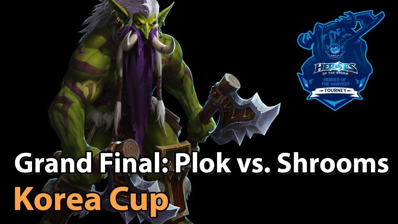 ► Grand Final: SexyPlok vs. Mushrooms - Korea Cup - Heroes of the Storm Esports