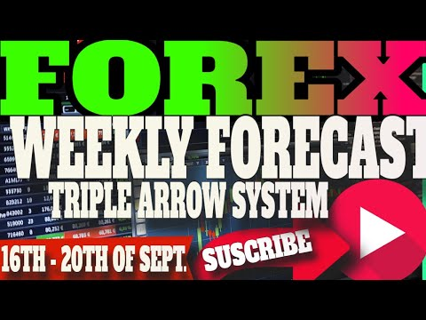 Weekly Forex Analysis 2019 - Market Analysis 16th - 20th Sep -TRIPLE ARROW SYSTEM 2019 - FX Forecast