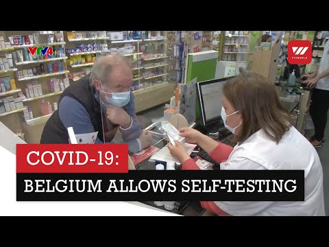 Rapid COVID-19 tests sold in pharmacies in Belgium for self-testing | VTV World
