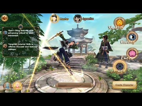 Age of Wushu Dynasty Gameplay (Tangmen) IOS / Android