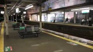 JR瀬田駅 架線断線事故 火花散る thumbnail