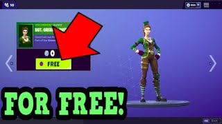HOW TO GET SGT. GREEN CLOVER SKIN FOR FREE! (Fortnite Old Skins)