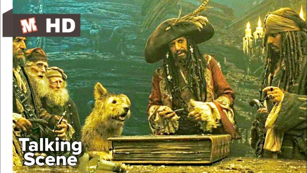 Download Pirates of Caribbean 3 Hindi At World's End Talking Scene