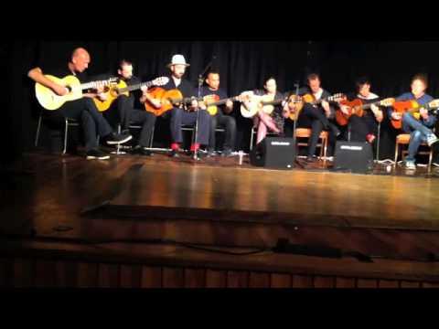 London School of Flamenco Guitar - Pena Flamenca de Londres 2014
