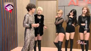 AOA出演成人節目大解放 跪地伸舌張腿跨坐夾男人