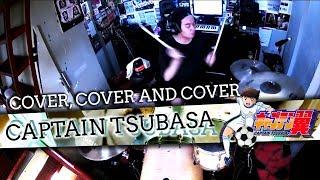 Bounty Ramdhan - Captain Tsubasa - Opening (Drum Cover)