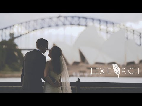 Destination Wedding Video In Sydney Australia | ALL THE FEELS! | Botanic Gardens Wedding