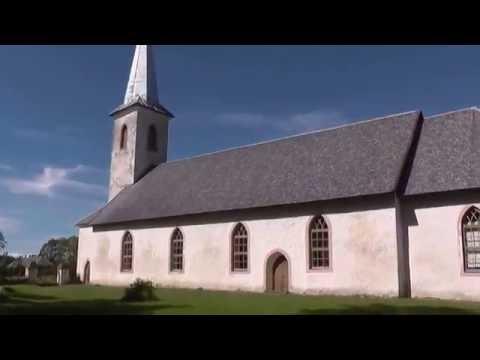Urbanuse Church in Varbla Estonia