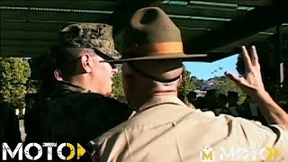 Marine Corps Boot Camp - Drill Instructors DESTROY Recruits!!!