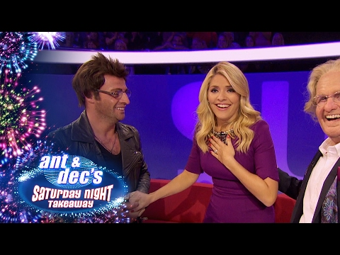 Holly Willoughby Surprise Prank By Ant & Dec - Saturday Night Takeaway