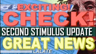 FINALLY! SECOND STIMULUS CHECK GETS BIGGER AMOUNT! | Second Stimulus Package Update GREAT NEWS TODAY