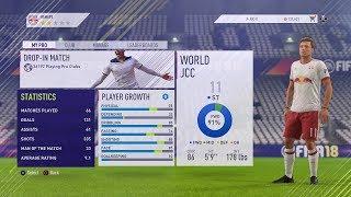 FIFA 18 Pro Clubs | Best Striker Build! + Trait Glitch!