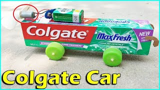 How to make Colgate Bus at Home -  Bus of paper Easy