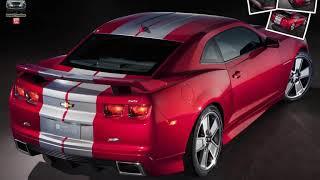 Chevrolet Camaro Red Flash Concept Videos