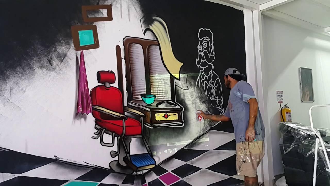 Grafiti en el mueble del peluquero youtube for El factory del mueble