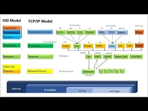 Basic of Network Security, Services, Protocols and Encapsulation - Hindi