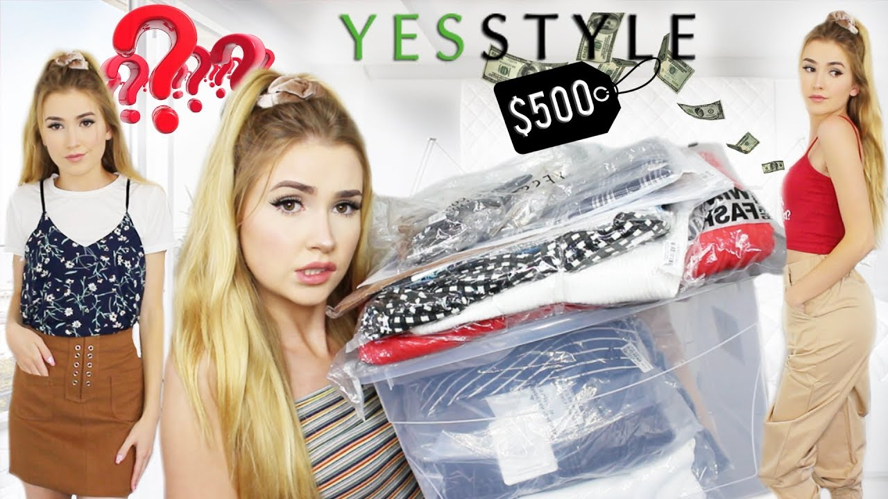 I SPENT $7 ON YESSTYLE  Is it Legit? This is what I got!!
