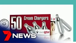 Health experts calling for ban on cheap canisters used by teens to get high | Adelaide |7NEWS