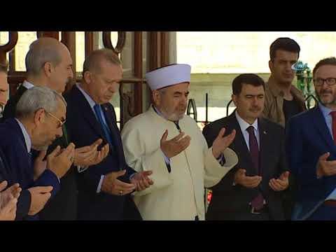 Cumhurbaşkanı Erdoğan, Restorasyonu Tamamlanan Fatih Sultan Mehmet Han Türbesini Açtı