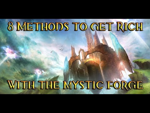 [GW2] 8 Methods To Get Rich With The Mystic Forge!