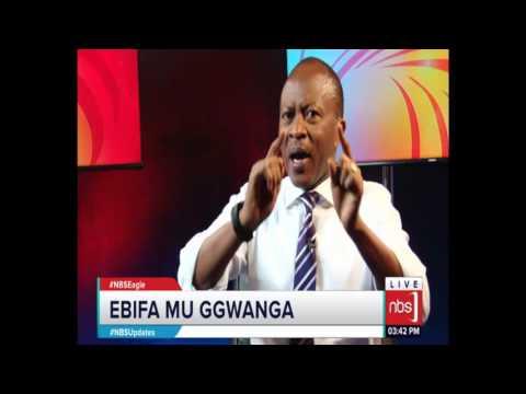 Frank Gashumba ne Basajja Mivule ku NBS Eagle - 12 March, 2017 (Part 1)