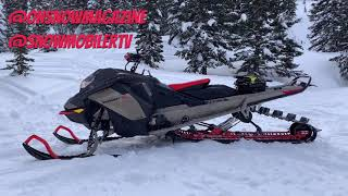 2022 Ski-Doo Summit X 165 850 E-TEC Turbo with Expert Package