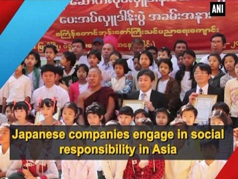Japanese companies engage in social responsibility in Asia - Japan News