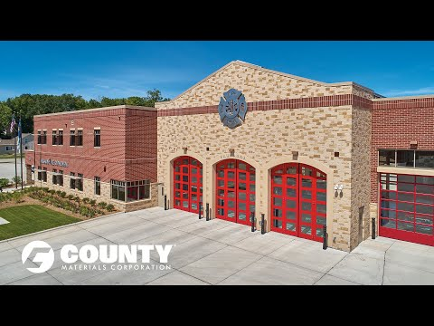 Advantages of Concrete Masonry - Kaukauna Fire Department  Project Feature