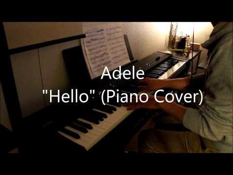"""Adele """"Hello"""" (Paino Cover)"""
