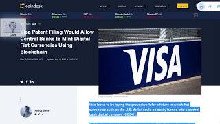 Visa Patent Filing Would Allow Central Banks to Mint Digital Fiat Currencies Using Blockchain