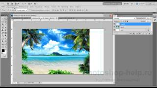 Как сделать визитку в фотошопе видеоурок