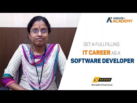 Internship for IT Students @ ANGLER Academy, Coimbatore - Sowndarya