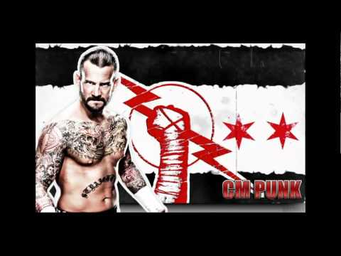 WWE CM Punk Theme Song - New 2011-2012