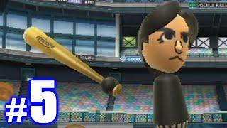 LIL KERSH'S FIRST HOME RUN! | Wii Sports Baseball #5