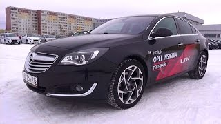 2014 Opel Insignia Cosmo. Start Up, Engine, And In Depth Tour.